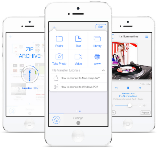 Pocket Drive 1 0 File Transfer App For iOS Needs No Network