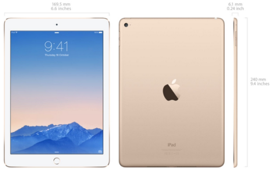 ipad air 2 basal comparison equivalence