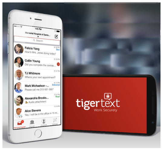 TigerText Introduces First Secure Enterprise Messaging App For The ...