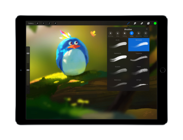 procreate 3 advanced ios painting app now available with ipad pro and apple pencil support. Black Bedroom Furniture Sets. Home Design Ideas