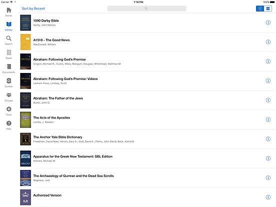 Free Verbum Catholic Bible Study App For iOS