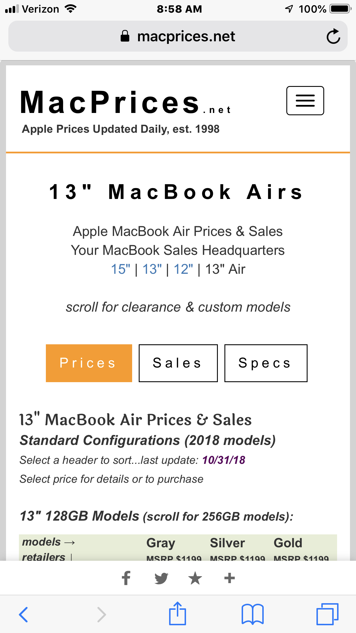 MacPrices net | Apple Mac, iPad, & iPhone prices & reviews