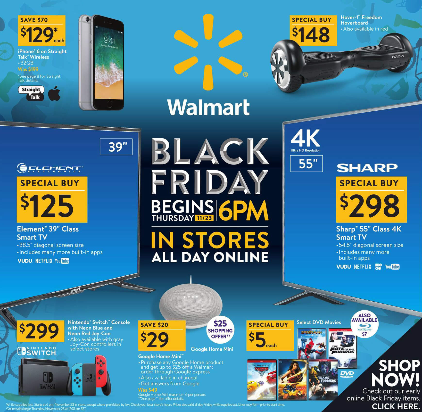 official photos 173cf 2c177 Walmart offers discounts on Apple iPads and iPhones during their two ...