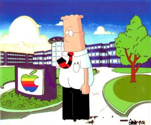 A scene from Dilbert