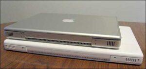 Apple MacBook and 12-inch PowerBook G4
