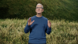 Tim Cook at 2021 Apple Event