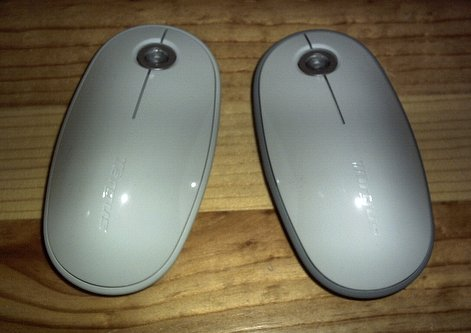 7e7ad066007 We tested two models of Touch Scroll - equipped Targus mice. The Wireless  Mouse for Mac, and the Bluetooth Laser Mouse for Mac are identical in size,  shape, ...
