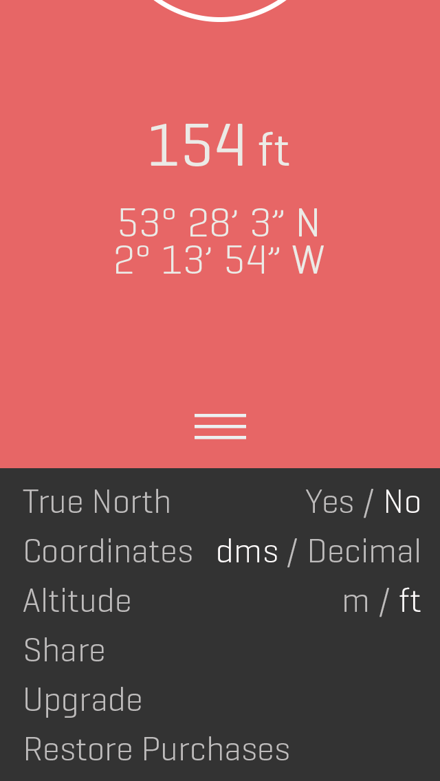 Alti for iOS ' Free Stylish Altimeter and Compass App