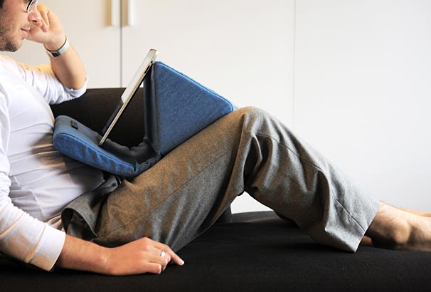 Four Tablet Pillow Beanbag Stands Compared Iprop Lap